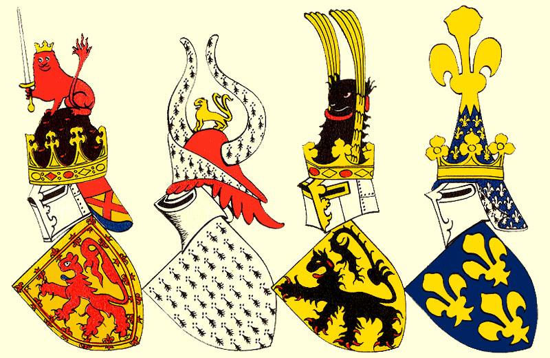 герб франции фото