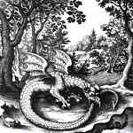 Гностический змей уроборос