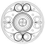 Мандала Кельтика Символ защиты воинов