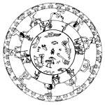 Мандалы Символы народов Двуречья, Египта, Индии, Персии, Тибета.