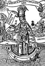 Гравюра Древние символы