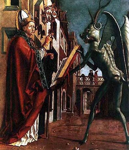 Все знаменитые богословы, начиная с Иринея, занимались проблемой дьявола.