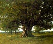 И стоит там аж с XIV века огромный дуб, который издавна прозвали Сатанинским.