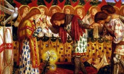 Данте Габриэль Россетти Явление Святого Грааля