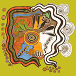 Мандала змей аборигенов Австралии
