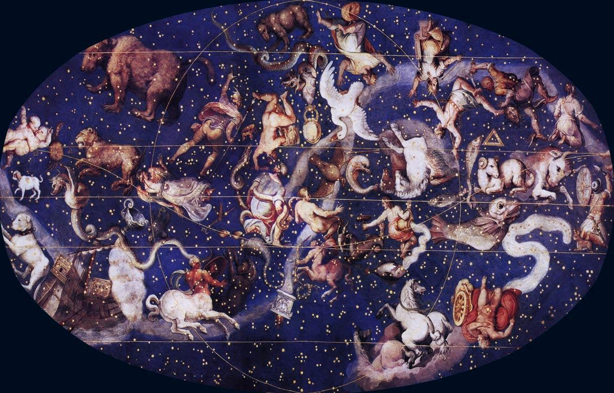 Атлас фарнезе звездное небо роспись